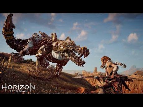 """Мир будущего населенный роботами динозаврами. Фантастический игровой фильм """"Horizon׃ Zero Dawn"""""""