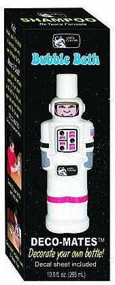 Children can decorate their #very own astronaut bottle with an assortment of labels to choose #from -faces, apparel, and every county's flag from the Internationa...