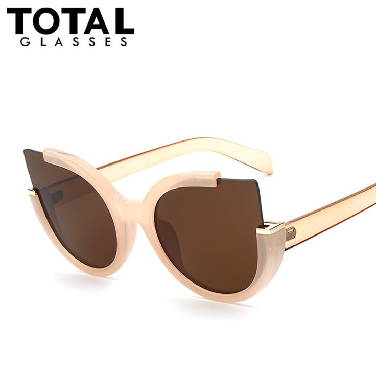 Totalglasses Round Shade Summer Fashion Sunglasses Women Vintage Brand Designer Glasses For Ladies Gafas Retro Oculos Like and share this pure awesomeness! #shop #beauty #Woman's fashion #Products #Classes