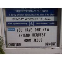 funny, but also very true....  funny church signs, real church signs