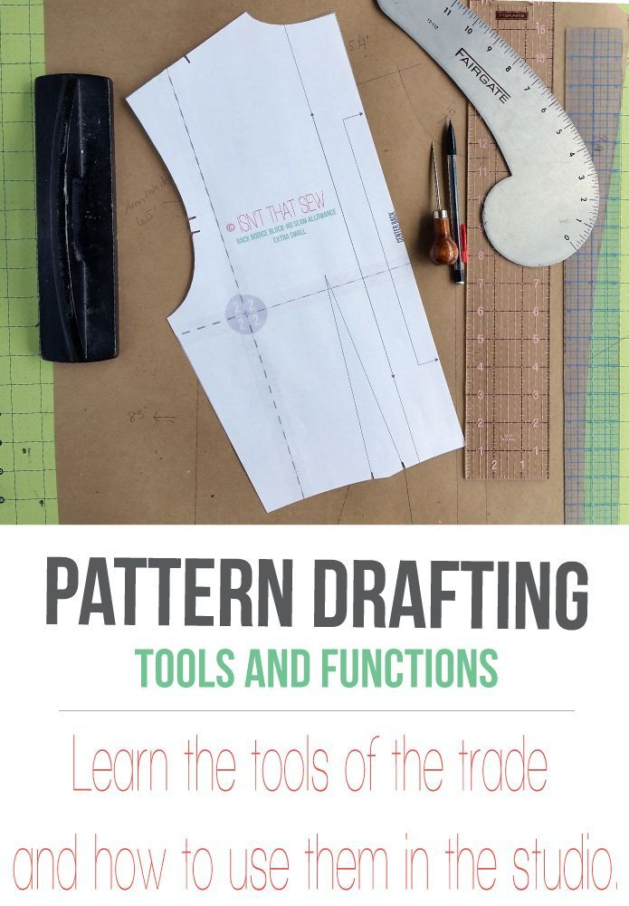 A comprehensive look at pattern drafting tools and how they function in the studio. Kraft Paper  Paper for drafting patterns in a home studio is essential. Without it, it would be close to impossible.  In the basic tools and supplies article, I review a few different types of paper and the benefits of each. So, the reason …