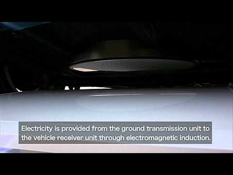 Nissan Leaf to get inductive charging
