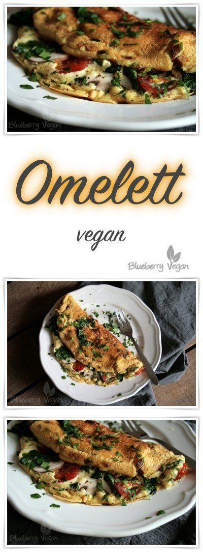 Veganes Omelett – Blueberry Vegan