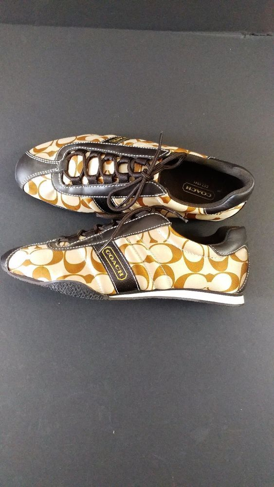 "COACH  ""Kirby"" Fashion Sneakers Size 8 NWOT $125 #Coach #Sneakers"