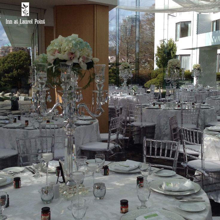 Candelabra centre pieces, table centre, wedding