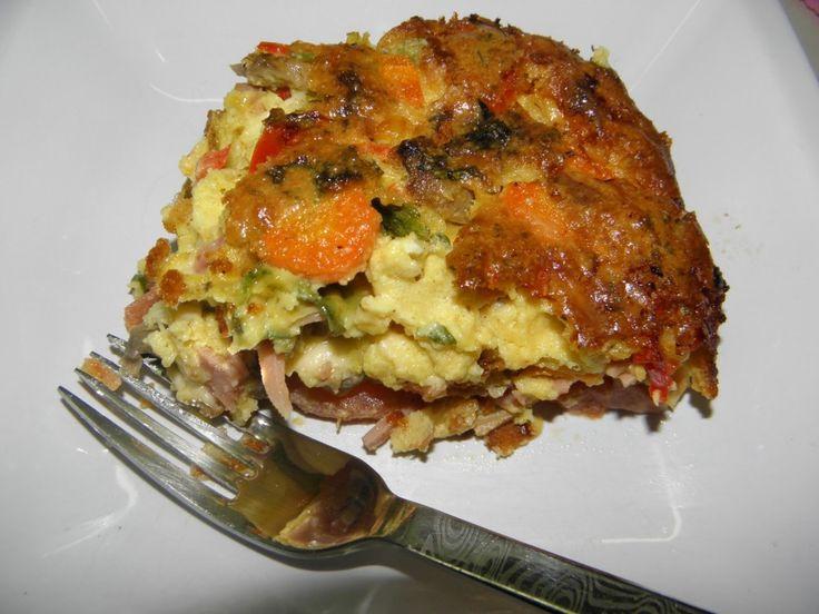 Σουφλέ με διάφορα λαχανικά