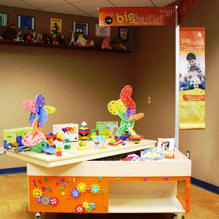 """Working with a professional children's museum exhibit designer, these """"Play and Learn Islands"""" were created (2008-12) by the Rancho Cucamonga Public Library to address the developmental needs of young children by incorporating play into library settings. For more information on how to acquire a """"Play and Learn Island"""" for your own library, visit the URL below."""