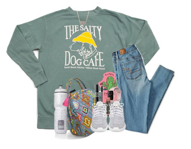 """Anotha one"" by southernstruttin ❤ liked on Polyvore featuring Victoria Sport, Kendra Scott, TONYMOLY, American Eagle Outfitters, Vera Bradley, Christian Dior, adidas, Victoria's Secret and ILI"