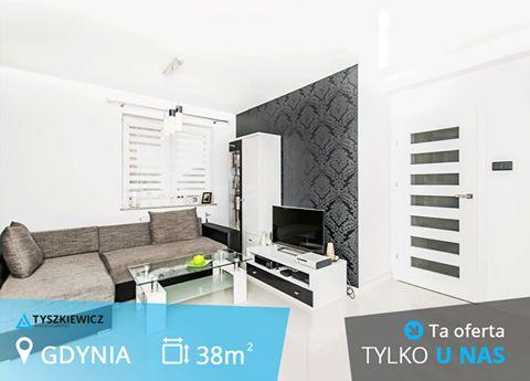 Wygodne i wykończone w wysokim standardzie, 2 pokojowe mieszkanie w spokojnej części Oksywia. Idealna propozycja dla osób chcących odpocząć od miejskiego hałasu, a jednocześnie szukających terenów rekreacyjnych.  #tyszkiewicz #gdynia #mieszkanie #trojmiasto #morze