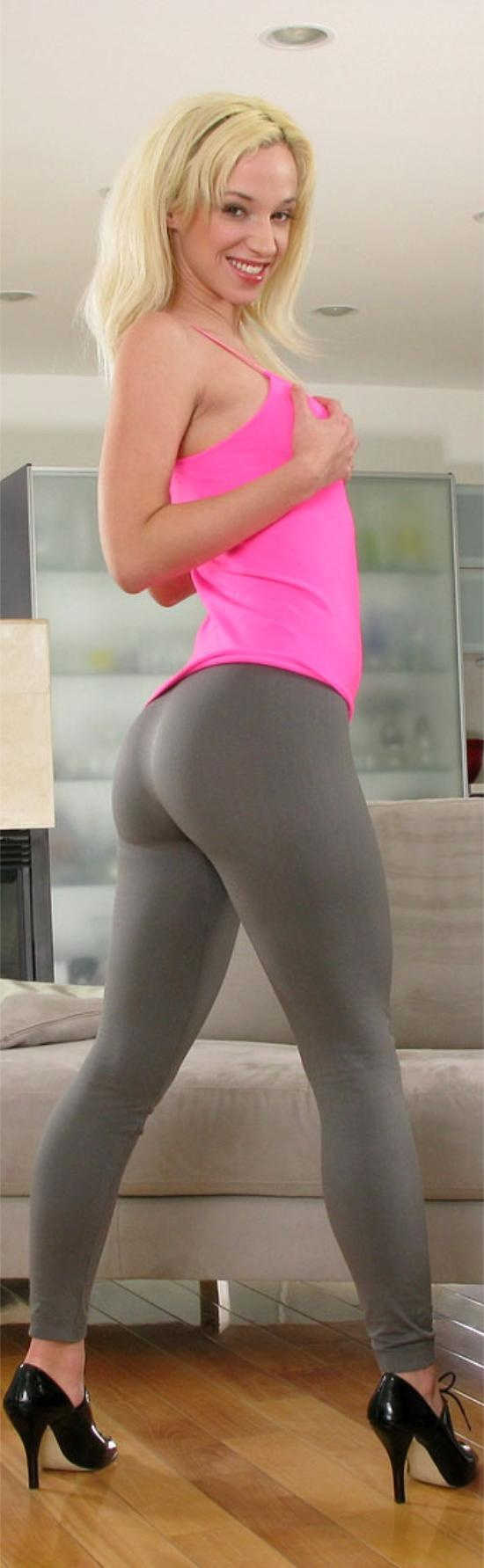 Yoga pants hot girls anal means