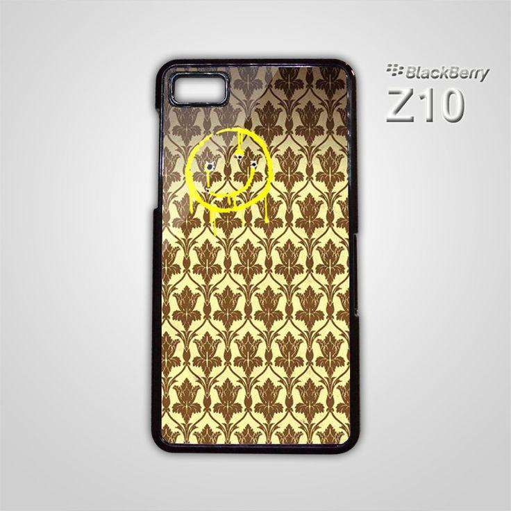 NEW Sherlock Holmes Wallpaper BBC Smiley BB BlackBerry Z10 Z 10 Case Cover
