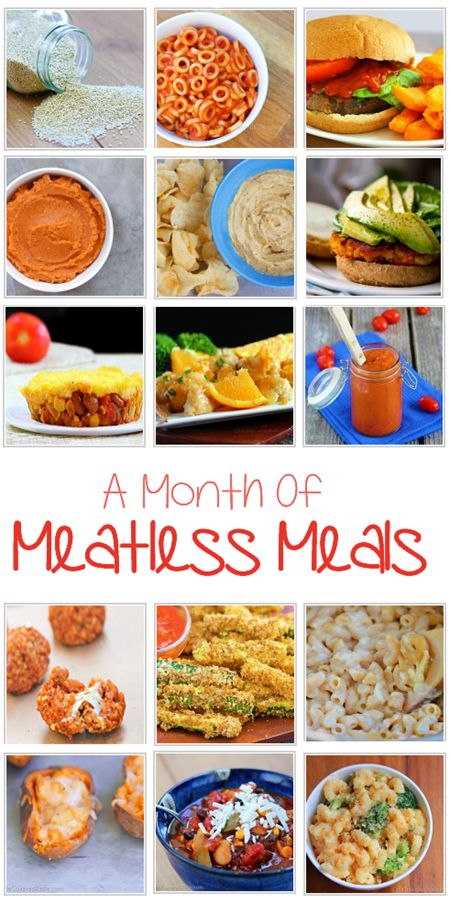 You definitely don't need to be a vegan or vegetarian to enjoy the countless health benefits of adding more meatless meals to your diet. No fake meat products, and some of the recipes can be prepared in just 5 minutes: http://chocolatecoveredkatie.com/2015/07/27/meatless-meals-recipes/