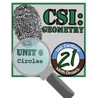 Nothing like a good criminal investigation to liven up geometry! In this project, students will work in teams to investigate the culprit of six fictional thefts. The criminal has left six messages, layered with geometry practice. Teams will work to build a case and present their findings to the court.