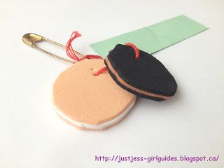 Cookies! Just Jess's Girl Guide Blog: Delicious Camp Hat Craft Ideas