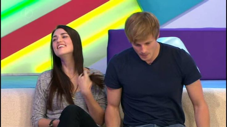 Merlin S5 |T4: Bradley James & Katie McGrath - there's dancing and a witch hunt