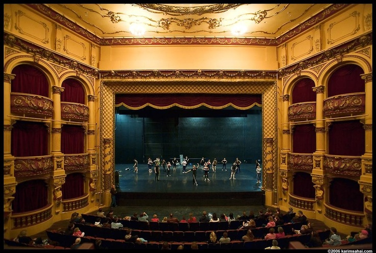 St. James Theater in Wellington, New Zealand - This theater was built in 1912 and is said to be haunted by a wailing woman, a Russian performer named Yuri, and members of a boys choir who were lost at sea.