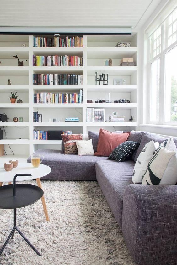 91 best images about woonkamer inbouw kasten on pinterest cabinets scandinavian furniture for Deco woonkamer moderne woonkamer