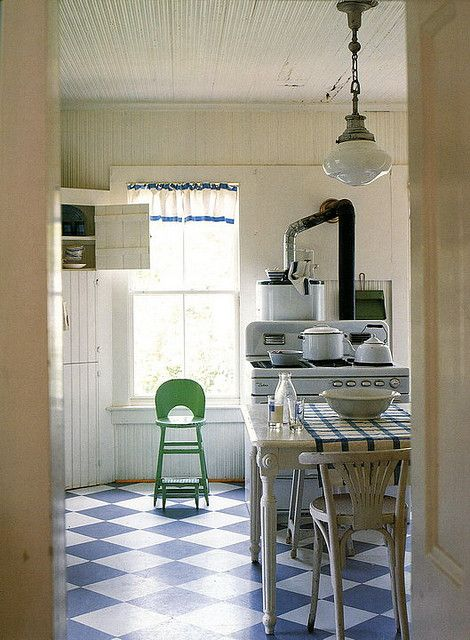 961 best vintage kitchen ideas images on pinterest for Country farmhouse kitchen ideas