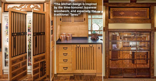 Japanese Kitchen By Pasadena Designer Elina Katsioula