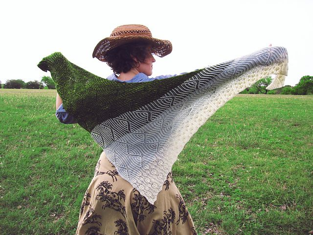 Ravelry: Y'all Shawl pattern by Lesley Anne Robinson
