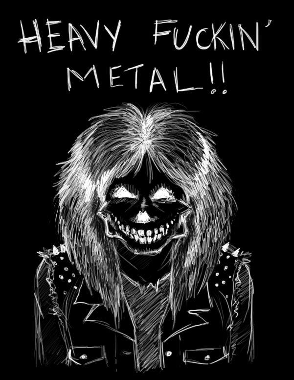 Heavy METAL by zombiepencil.deviantart.com on @deviantART
