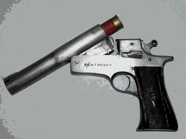 12 Gage Pistol Fabricaci 243 N Casera Pinterest Pistols