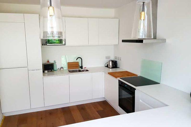 An Innova Luca Matt White Kitchen - http://www.diy-kitchens.com/kitchens/luca-matt-white/details/