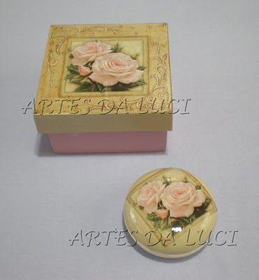 Postando Sobre Artes: pap decoupagem sabonete - com papel