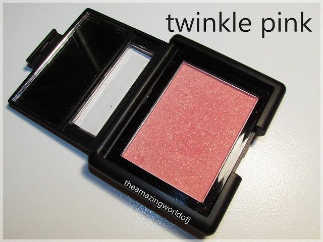 elf twinkle pink vs. nars orgasm - so many dupes for Nars, it has become ridiculous now!