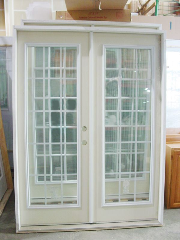 Interior Double French Doors Prehung