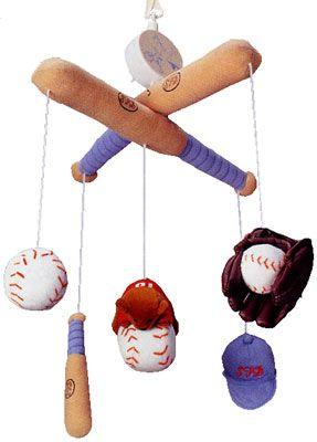 Baby Mobile!    Google Image Result for http://www.kidsdecoratingideas.com/Images/baseball-baby-mobile_2.jpg