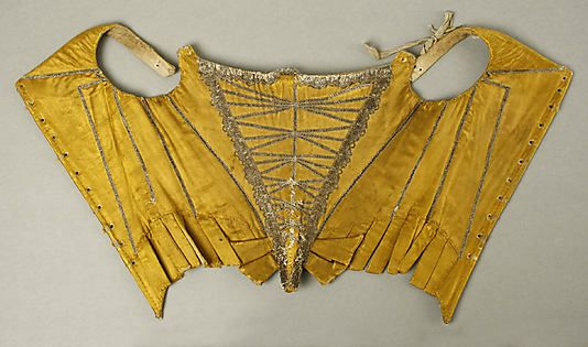 Corset Date: late 17th–early 18th century Culture: French