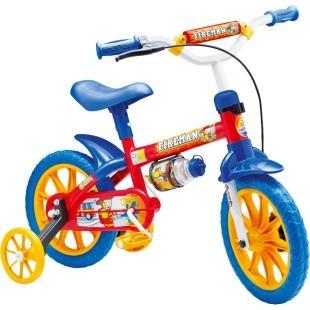 """Bicicleta Infantil Nathor Aro 12"""" Fireman 7, possui a nova roda aro 12, que proporciona um pedalar mais seguro, confortável e com mais equilíbrio. Tudo isso pensando no bem estar dos pequenos. Além disso, possui design moderno, com garrafinha, pneu em EVA, quadro em aço, guidão com PAD, placa frontal e cores alegres. Tudo o que a criança precisa para se divertir com segurança e conforto."""