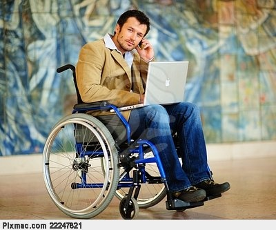Wheelchair user working | Editorial Styling: People with disabilities | Pinterest | Disability and People