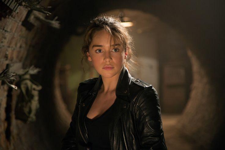 Emilia Clarke aka Sarah Connor