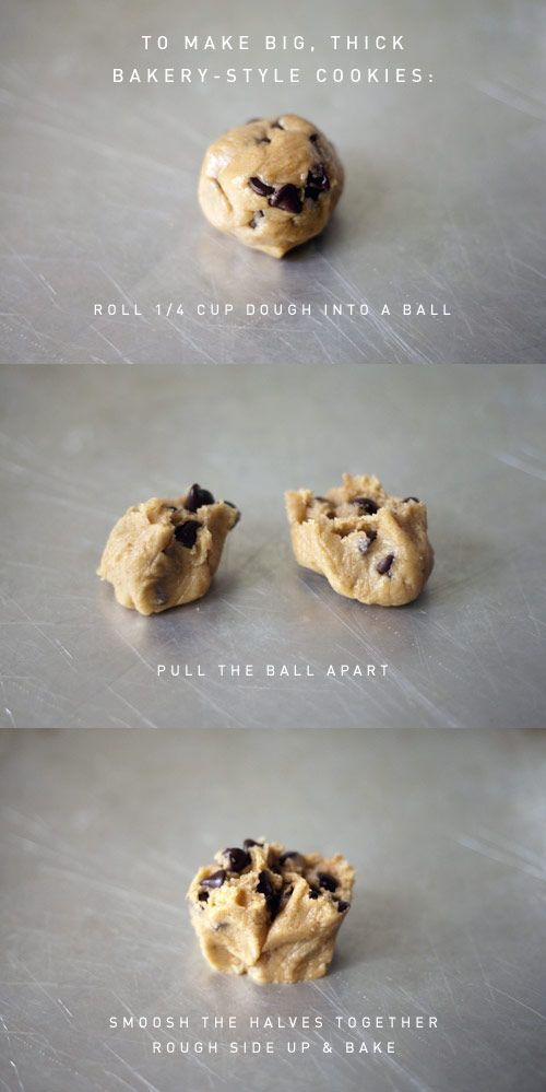 best chocolate chip cookie recipe--same as my fav recipe, but makes bigger cookies!