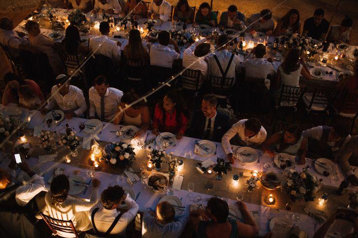wedding reception - outdoor wedding reception - wedding lights - wedding light decor - wedding lighting - wedding in tuscany - wedding in italy - destination wedding italyph. Amanda Drost