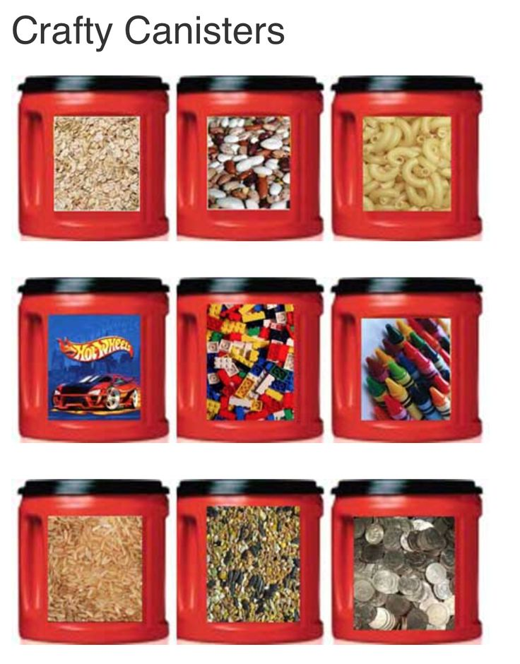 Free Printable Folgers Coffee Can labels - for storage crayons, coins, toys, legos, macaroni, matchbox cars, and more