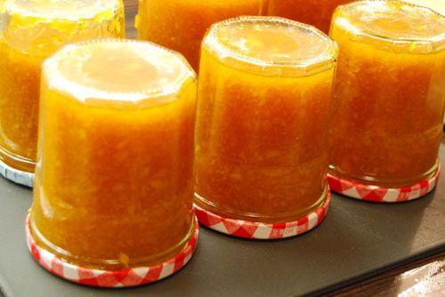 Narancsos sütőtöklekvár
