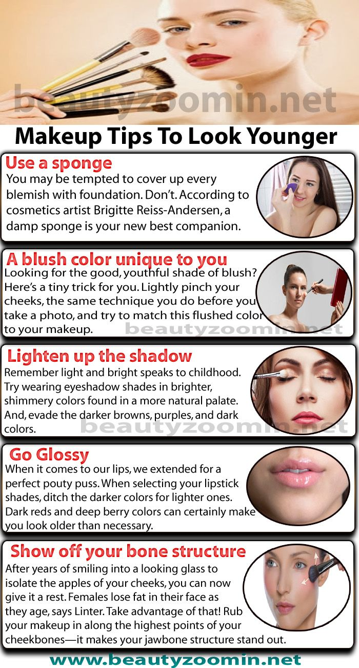 Makeup Tips To Look Younger Instantly Follow Our Guide  Makeup