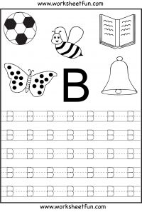 letter tracing worksheets--free printables