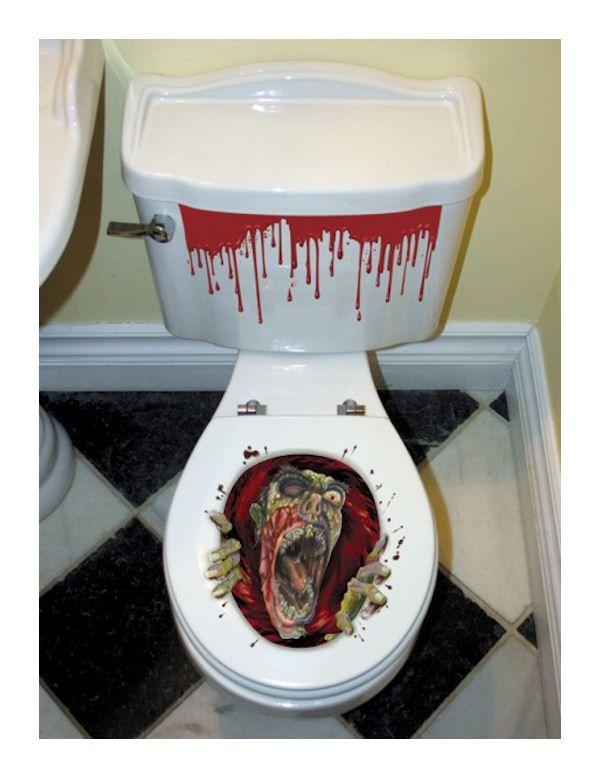 Dennis Price (club341) on Pinterest - halloween bathroom sets
