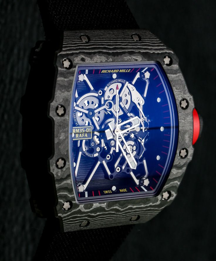 Richard Mille RM 35-01 Rafael Nadal Carbon Watch Hands-On  $500k+