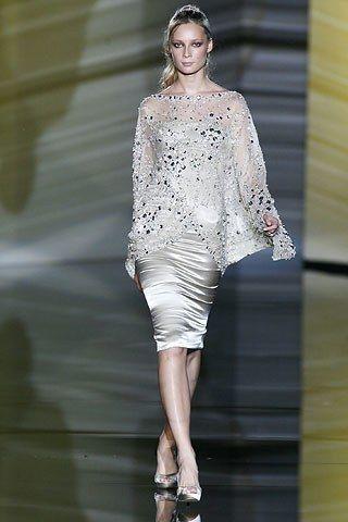 Elie Saab Fall 2006 Couture Fashion Show - Tiiu Kuik