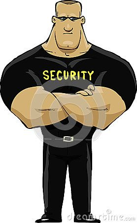 if all else fails im gonna become a security guard