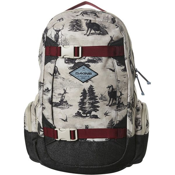 Dakine Team Mission 25l Womens Backpack Cotton ($57) ❤ liked on Polyvore featuring bags, backpacks, women, strap backpack, padded backpack, dakine rucksack, shoulder strap bags and laptop pocket backpack