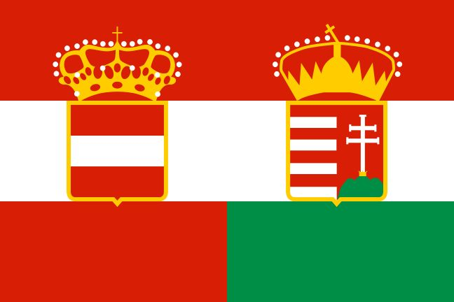Oostenrijk-Hongarije hoorde tijdens WOI bij de centralen.