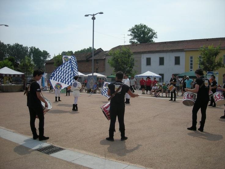 Ecomuseo del Paesaggio Lomellino - sbandieratori