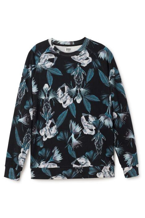Paris printed sweater