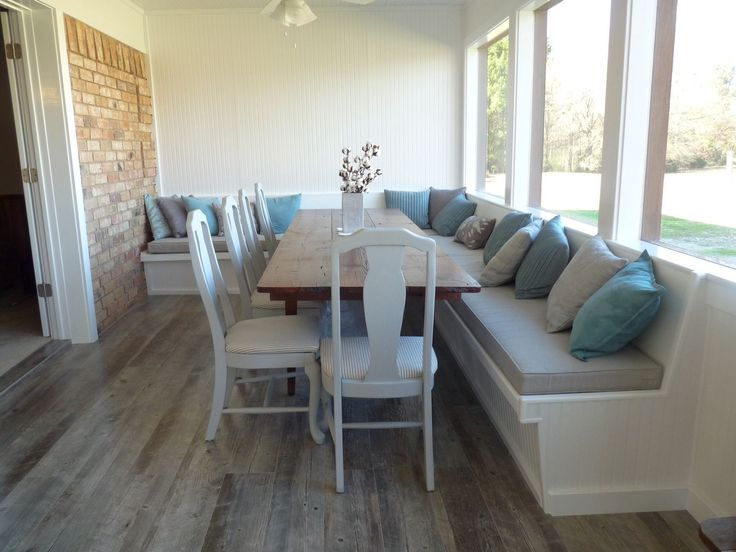 Best Customer Photos Images On Pinterest Bench Cushions - Breakfast nook cushion set olive bench padding kitchen table dinette